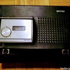 Radios antiguas: CASETTE GRABADOR PHILIPS N2205. Lote 155982765