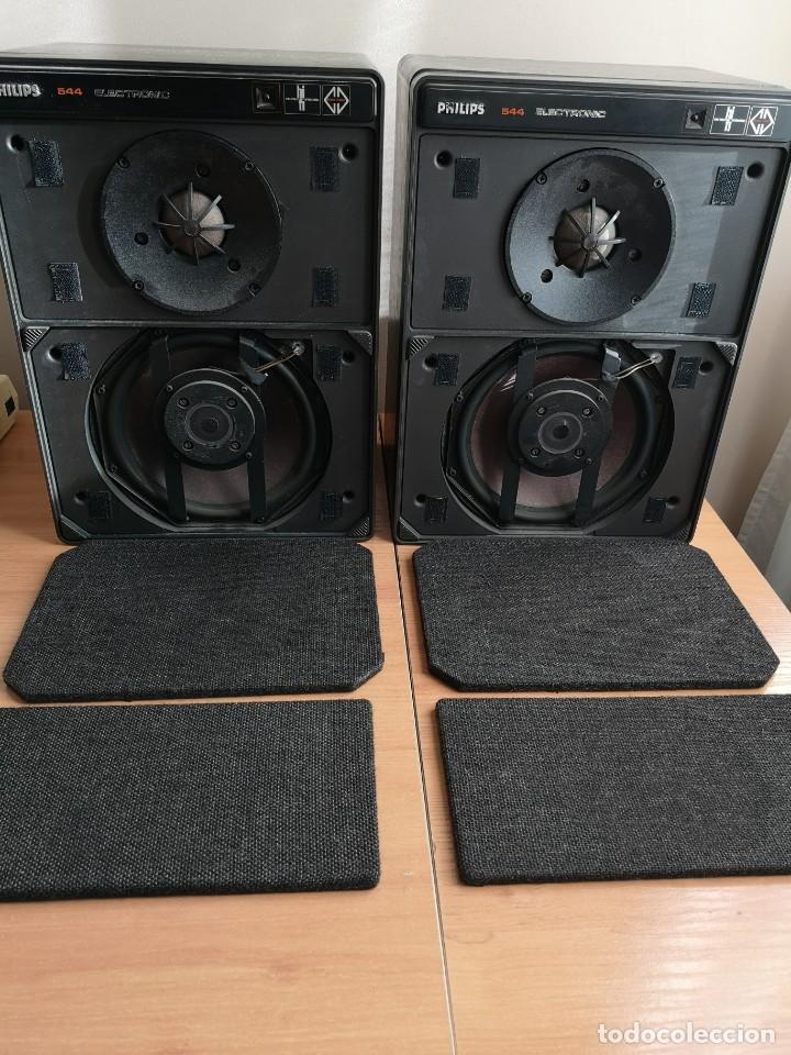 ALTAVOCES MONITORES AUTOAMPLIFICADOS PHILIPS 544 (Radios, Gramófonos, Grabadoras y Otros - Transistores, Pick-ups y Otros)