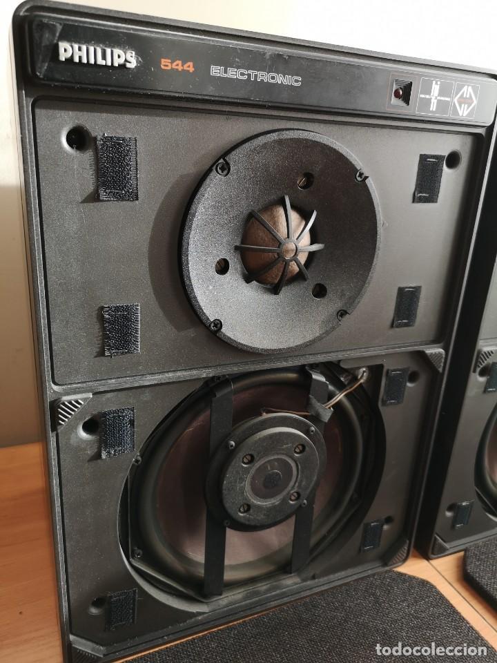 Radios antiguas: altavoces monitores autoamplificados PHILIPS 544 - Foto 3 - 155982814