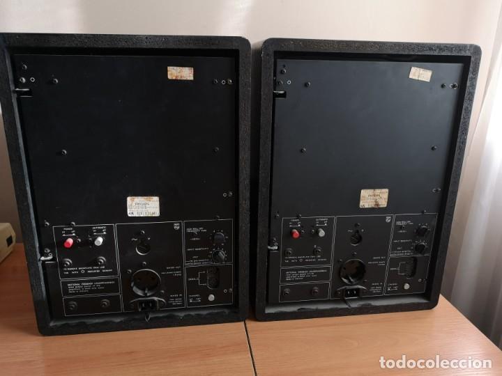 Radios antiguas: altavoces monitores autoamplificados PHILIPS 544 - Foto 5 - 155982814