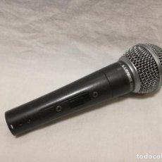 Radios antiguas: MICROFONO - LEADER DM-3000 DYNAMIC MICROPHONE UNI-DIRECTIONAL. Lote 155991542