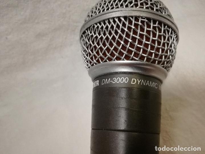 Radios antiguas: MICROFONO - LEADER DM-3000 DYNAMIC MICROPHONE UNI-DIRECTIONAL - Foto 3 - 155991542