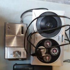 Radios antiguas: LOTE DE TRES RADIOS TRANSISTORES. PARA TU COLECCION. Lote 156184964