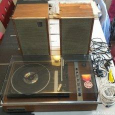 Radios antiguas: TOCADISCOS HF10A GENERAL ELECTRICA ESPAÑOLA. Lote 156598013