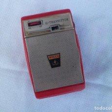 Radios antiguas: RADIO TRANSISTOR WILCOX AÑOS 60. Lote 156658526