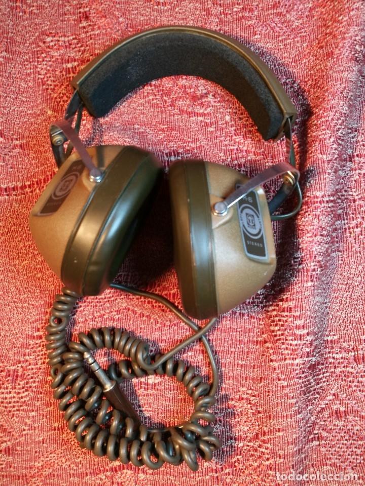 Radios antiguas: ORIGINALES AURICULARES KOSS MODELO K-6 AÑO 1971 MADE IN USA - Foto 2 - 156724182