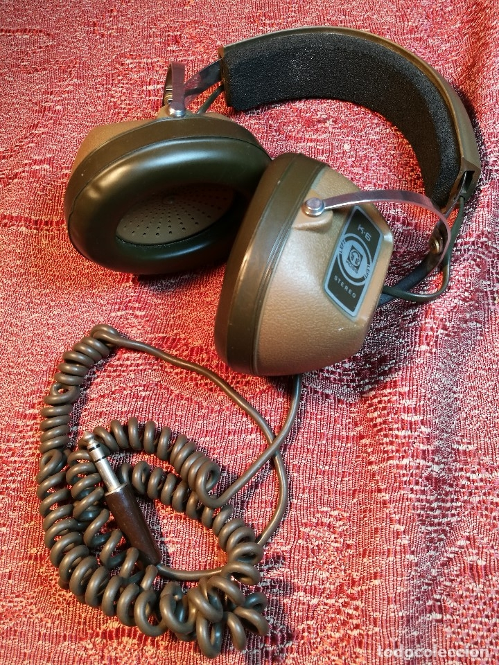 Radios antiguas: ORIGINALES AURICULARES KOSS MODELO K-6 AÑO 1971 MADE IN USA - Foto 4 - 156724182