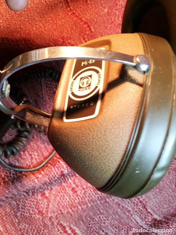 Radios antiguas: ORIGINALES AURICULARES KOSS MODELO K-6 AÑO 1971 MADE IN USA - Foto 17 - 156724182