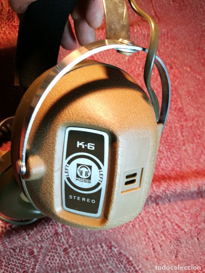 Radios antiguas: ORIGINALES AURICULARES KOSS MODELO K-6 AÑO 1971 MADE IN USA - Foto 14 - 156724182