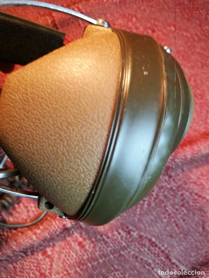 Radios antiguas: ORIGINALES AURICULARES KOSS MODELO K-6 AÑO 1971 MADE IN USA - Foto 18 - 156724182