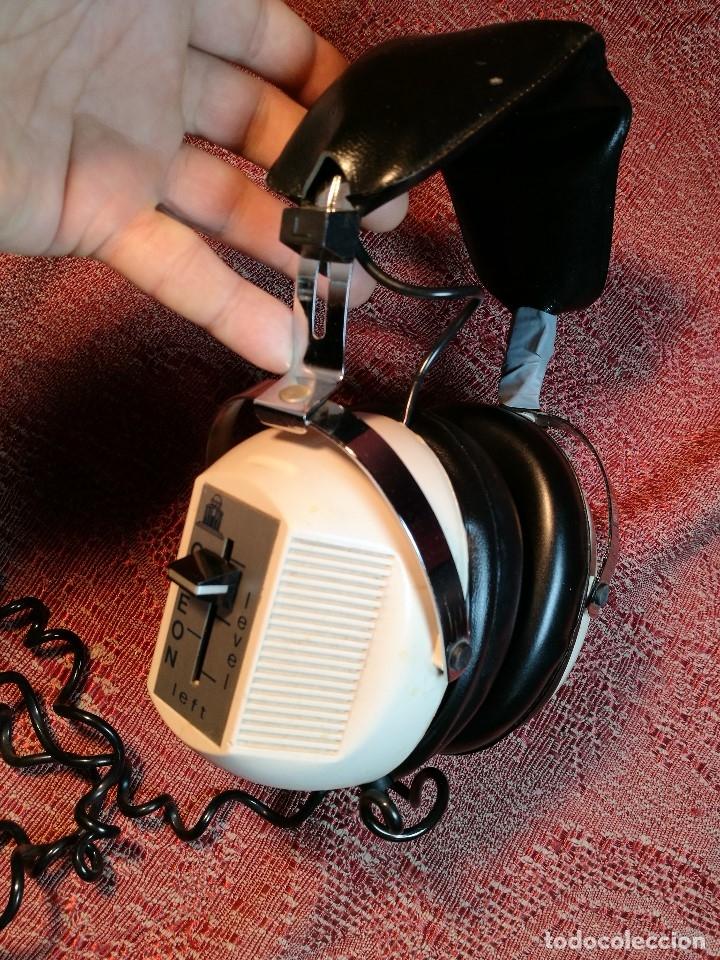 Radios antiguas: ORIGINALES Y RAROS AURICULARES ODEON - STEREO HEADPHONES - Foto 2 - 156725394
