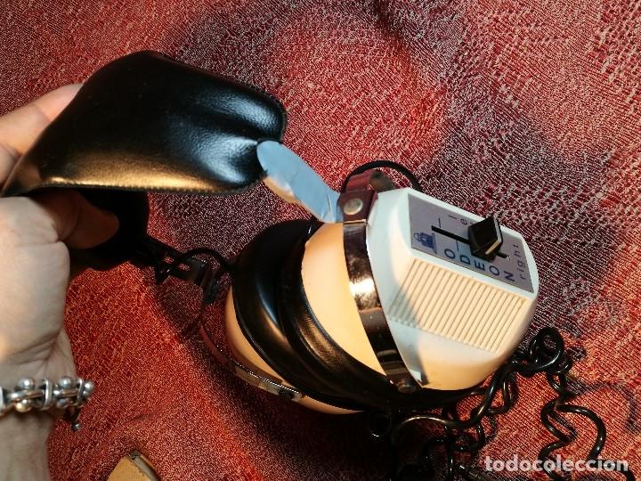 Radios antiguas: ORIGINALES Y RAROS AURICULARES ODEON - STEREO HEADPHONES - Foto 4 - 156725394