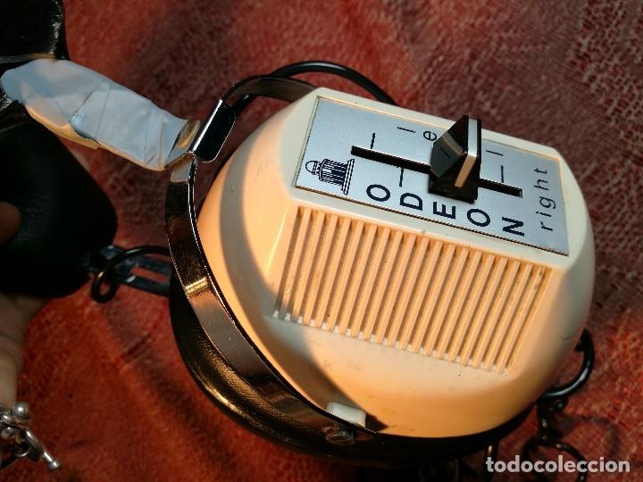 Radios antiguas: ORIGINALES Y RAROS AURICULARES ODEON - STEREO HEADPHONES - Foto 6 - 156725394