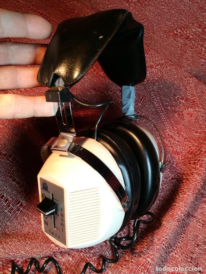 Radios antiguas: ORIGINALES Y RAROS AURICULARES ODEON - STEREO HEADPHONES - Foto 11 - 156725394