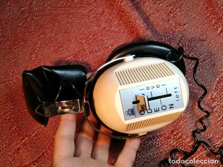 Radios antiguas: ORIGINALES Y RAROS AURICULARES ODEON - STEREO HEADPHONES - Foto 9 - 156725394