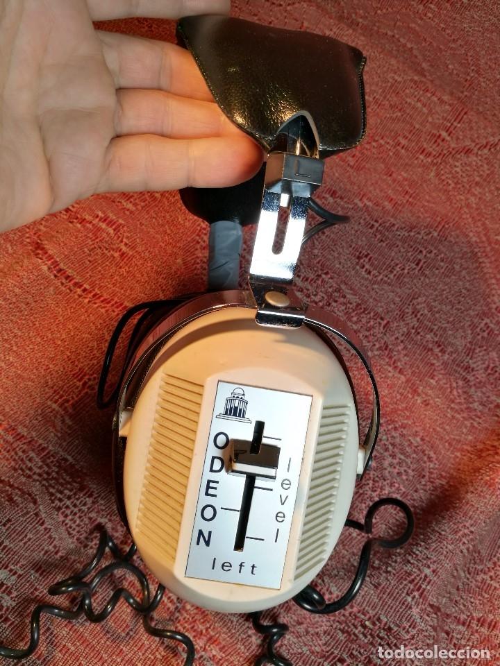 Radios antiguas: ORIGINALES Y RAROS AURICULARES ODEON - STEREO HEADPHONES - Foto 12 - 156725394