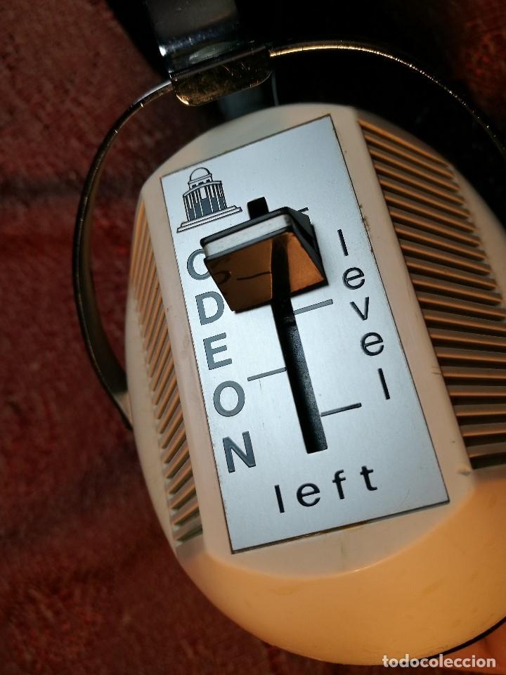 Radios antiguas: ORIGINALES Y RAROS AURICULARES ODEON - STEREO HEADPHONES - Foto 30 - 156725394
