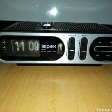 Radios antiguas: ANTIGUO RADIO DESPERTADOR MARCA IMPEX, AÑOS 70, RARO Y ESCAZO. Lote 156916972