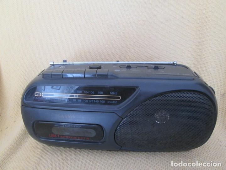 RADIOCASSETTE SANYO (Radios, Gramófonos, Grabadoras y Otros - Transistores, Pick-ups y Otros)