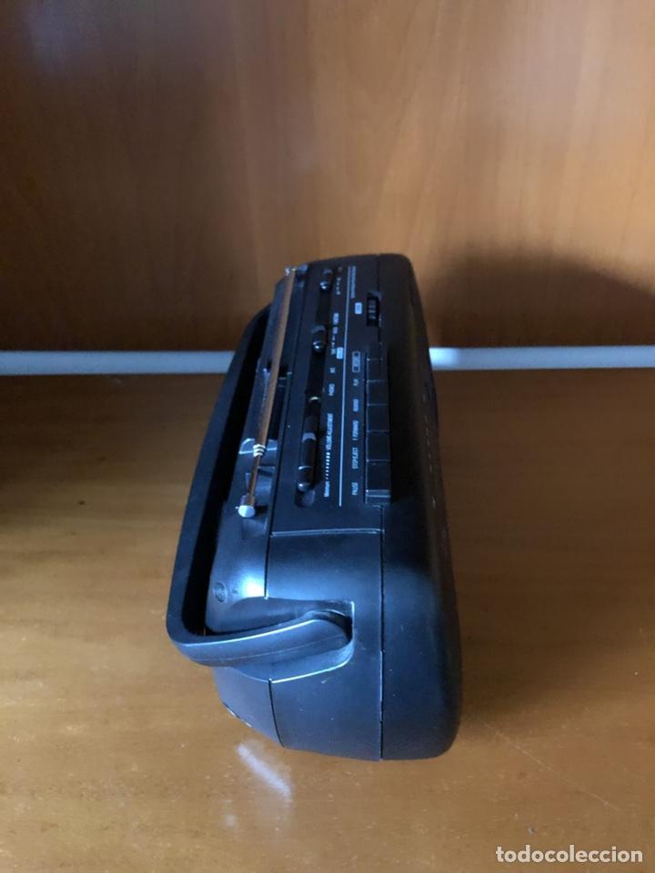 Radios antiguas: Radio Cassette Brigmton BRC 19, funcionando - ver vídeo - Foto 3 - 157774229