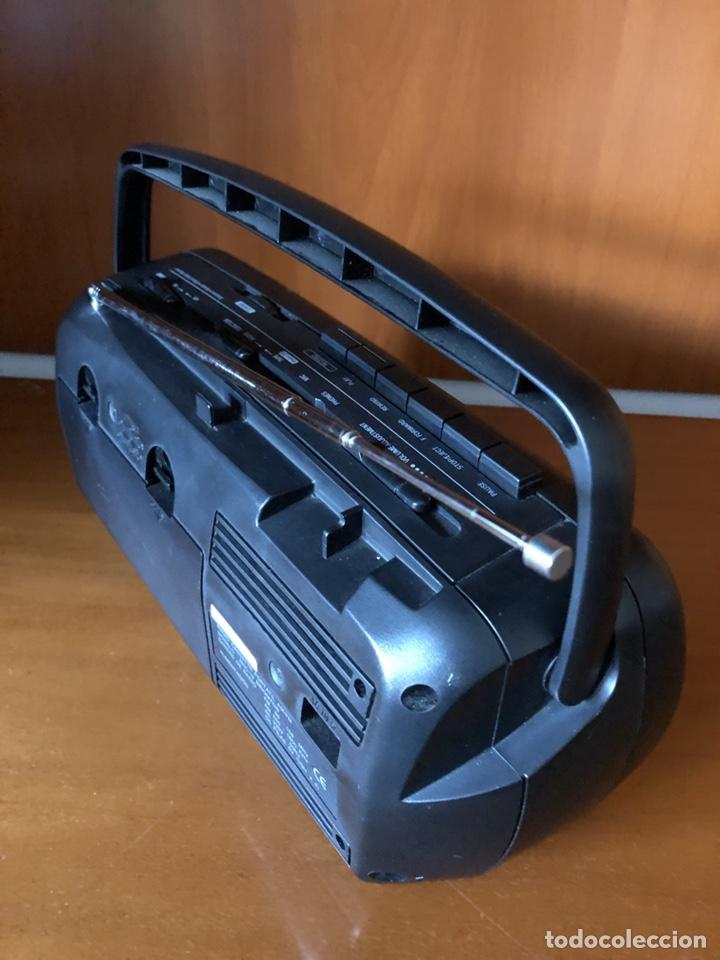 Radios antiguas: Radio Cassette Brigmton BRC 19, funcionando - ver vídeo - Foto 4 - 157774229