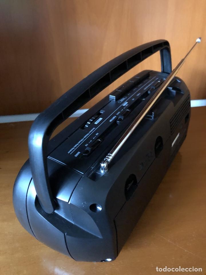 Radios antiguas: Radio Cassette Brigmton BRC 19, funcionando - ver vídeo - Foto 5 - 157774229