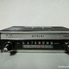 Radios antiguas: HITACHI AUTO RADIO TM 816 U. Lote 157863838