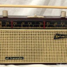 Radios antiguas: RARO ANTIGUO RADIO TRANSISTOR HELVECO FUNDA CUERO. Lote 165024284