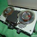 Radios antiguas: PEQUEÑO MAGNETOFONO AIWA TP-32A DICTAFONO PORTATIL DOBLE BOBINA ABIERTA GRABADORA AÑOS 60 VINTAGE. Lote 157974706