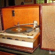 Radios antiguas: TOCADISCOS GENERAL ELECTRICA, FUNCIONANDO. Lote 158136506