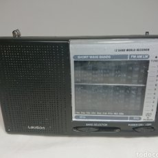 Radios antiguas: RADIO LAUSON RM104 12 BAND WORLD RECEIVER. Lote 158166950