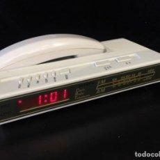 Radios antiguas: RADIO TELÉFONO DESPERTADOR . FUNCIONANDO.. Lote 158423582