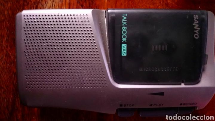 SANYO TRC 525 M. GRABADORA DICTADOR A. FUNCIONA (Radios, Gramófonos, Grabadoras y Otros - Transistores, Pick-ups y Otros)