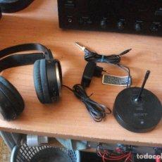 Radios antiguas: SONY MDR-RF810R AURICULARES INALÁMBRICOS PEPETO ELECTRONICA . Lote 158524438