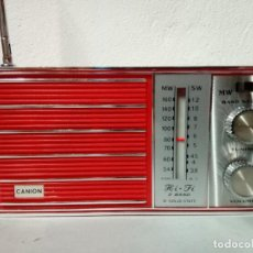 Radios antiguas: 75-RADIO TRANSISTOR CANION SOLID STATE.. Lote 158845122