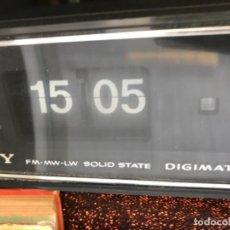 Radios antiguas: RADIO DESPERTADOR SONY DIGIMATIC AÑOS 70 MADE IN JAPAN VINTAGE. Lote 159196802