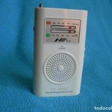 Radios antiguas: RADIO TRANSISTOR AM FM ¡SE LA REBAJO PARA QUE LA COMPRE!. Lote 159659986