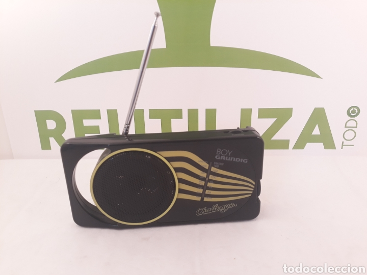 RADIO TRANSISTOR GRUNDIG CHALLENGE BOY 40. (Radios, Gramófonos, Grabadoras y Otros - Transistores, Pick-ups y Otros)