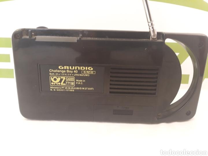 Radios antiguas: Radio transistor Grundig Challenge Boy 40. - Foto 3 - 159669394