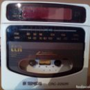 Radios antiguas: RADIO CASSETE DESPERTADOR. Lote 159726838
