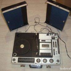 Radios antiguas: MALETA CENTRO MUSICAL SUNNY-VOX MODEL NO 6000 , VINTAGE BUENA CALIDAD DE SONIDO. Lote 159788122