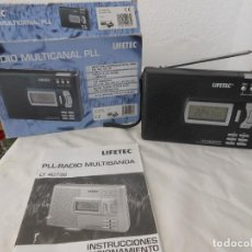Radios antiguas: RADIO MULTIBANDAS LIFETEC LT-40738. Lote 160302918