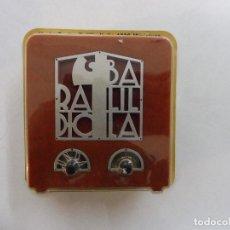 Radios antiguas: COLECCIÓN RADIOS DE ANTAÑO UNDA RADIO BALILLA, ITALIA 1939 MINIATURA. Lote 160570674
