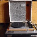 Radios antiguas: TOCADISCOS PORTÁTIL BETTOR - MARK 4. DUAL 410. FALTA LA AGUJA.. Lote 160573866