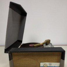 Radios antiguas: 419- RARO TOCADISCOS MARCA CID AÑOS 50 -- NO PROBADO 5 KGS. Lote 160821146