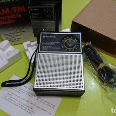 Radios antiguas: RADIO TRANSISTOR SANYO RP 5115, NUEVO A ESTRENAR. Lote 160860538