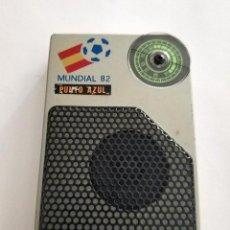 Radios antiguas: RADIO MUNDIAL ESPAÑA 82 PUNTO AZUL FUNCIONANDO. Lote 160983982