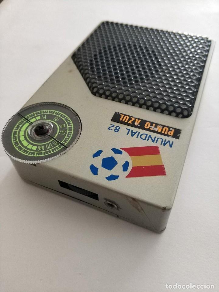 Radios antiguas: radio mundial españa 82 punto azul funcionando - Foto 3 - 160983982