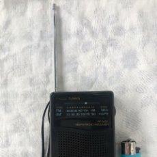 Radios antiguas: RADIO TRANSISTOR SANYO RP-5070, FUNCIONANDO - VER VÍDEO. Lote 161104542