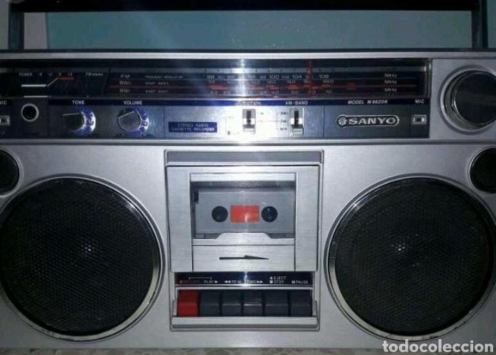 RADIO SANYO M-9820-K (Radios, Gramófonos, Grabadoras y Otros - Transistores, Pick-ups y Otros)